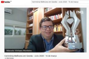 Energisa MS recebe prêmio da Fundação Nacional da Qualidade pelo desempenho na gestão