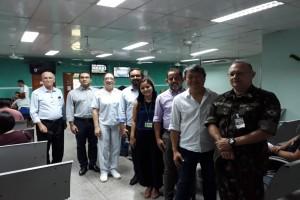 Hospital Universitário visita outras organizações de saúde para conhecer boas práticas de ge...