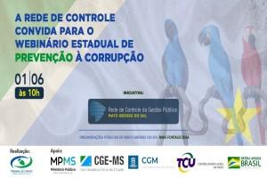 Webinário Programa Nacional de Prevenção à Corrupção em Mato Grosso do Sul